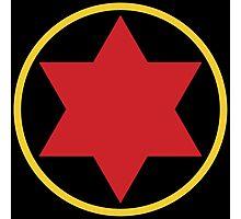 Black Widow Logo Redesign Photographic Print