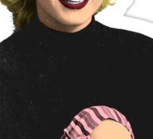 Marilyn Monroe recolored Sticker