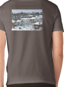 The Morning after a Big Snowstorm in Toronto, ON, Canada Mens V-Neck T-Shirt
