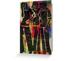 Young Men Greeting Card