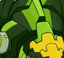 Greenlock's Dinobot Merchandice Sticker