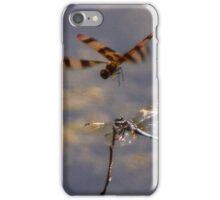 Two Dragonflies iPhone Case/Skin