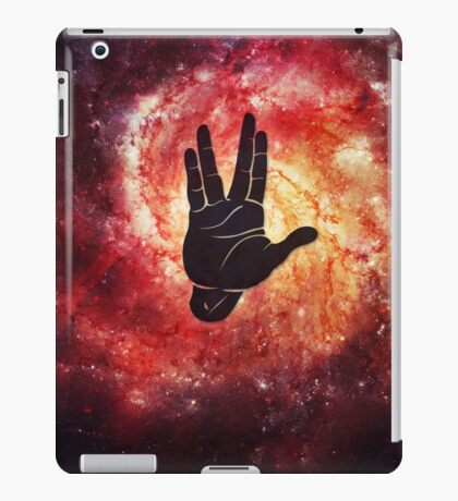 Spocks Hand Galaxy iPad Case/Skin
