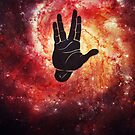 Spocks Hand Galaxy by badbugs