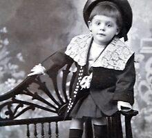 The cute little boy by michel bazinet