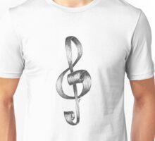 Sketchy Treble Clef Unisex T-Shirt