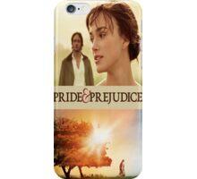 Pride and Prejudice Cover iPhone Case/Skin