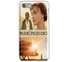 Pride and Prejudice Cover iPhone Case/Skin