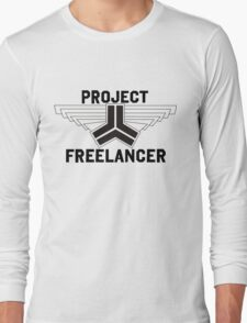 Red vs Blue: Project Freelancer Long Sleeve T-Shirt