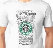 Typo Coffee Cup Unisex T-Shirt