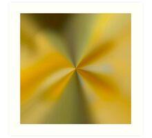 shiny gold/ green wrapper spin. VividScene Art Print