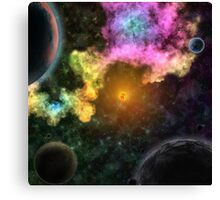 Amazing Space  Canvas Print