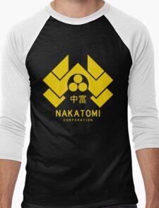 Nakatomi Corporation Men's Baseball ¾ T-Shirt