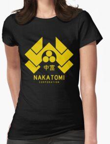 Nakatomi Corporation Womens Fitted T-Shirt