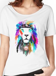 King Lion Women's Relaxed Fit T-Shirt