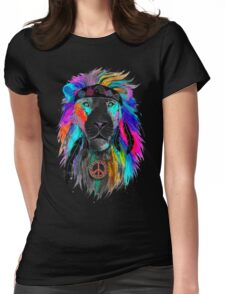 King Lion Womens Fitted T-Shirt