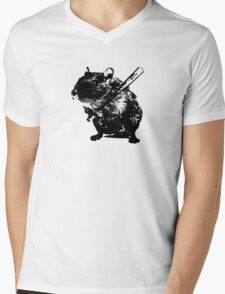 Angry mouse Mens V-Neck T-Shirt