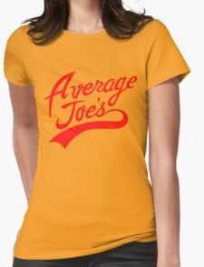 Average Joe's Womens Fitted T-Shirt