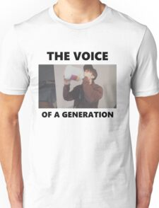 Leafy - The voice of a generation Unisex T-Shirt