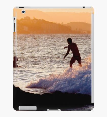 Sundown Surfing iPad Case/Skin