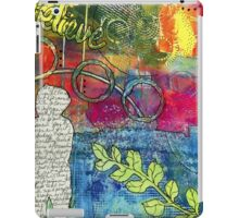 CREATIVITY is the Best Therapy! iPad Case/Skin