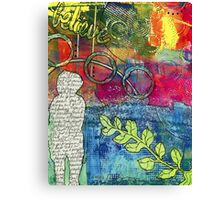 CREATIVITY is the Best Therapy! Canvas Print