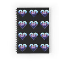 Jassekiel Heart Spiral Notebook