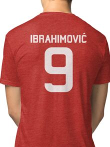 Ibrahimovic #9  Tri-blend T-Shirt