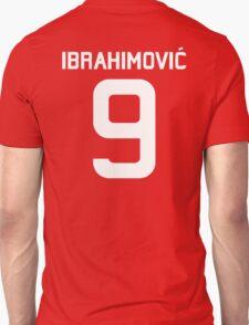 Ibrahimovic #9  Unisex T-Shirt