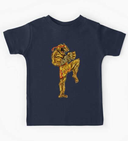 Tiger Fitness Kids Tee