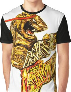 Tiger Fitness Graphic T-Shirt
