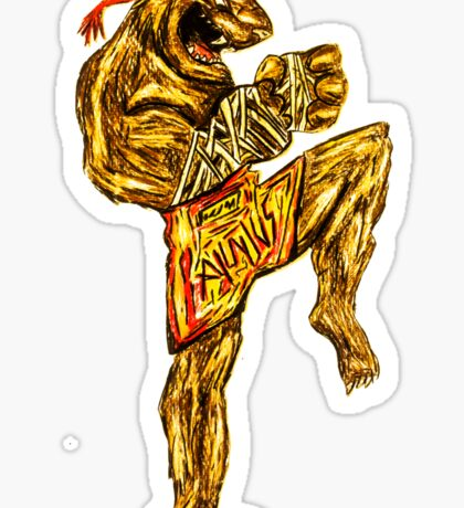 Tiger Fitness Sticker