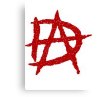 DA Anarchy Canvas Print