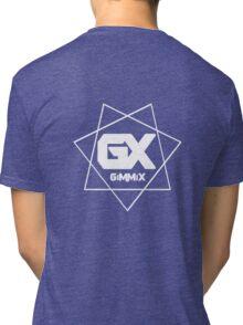 GiMMiX Logo (White on Black) Tri-blend T-Shirt