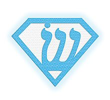 Superman Logo Redesign Photographic Print