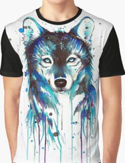Blue Wolf Graphic T-Shirt