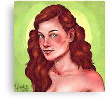 Lily Evans Canvas Print