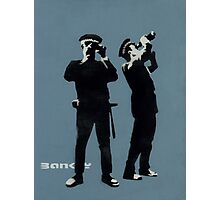 Banksy AVON AND SOMERSET CONSTABULARY Photographic Print
