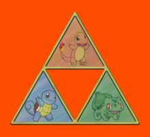 Pokemon Triforce Kids Clothes