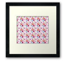 Happy Bird, Pretty Bird, Pink Bird Framed Print