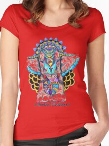 Wild Vibrations Women's Fitted Scoop T-Shirt