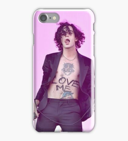Matty Healy Love Me iPhone Case/Skin