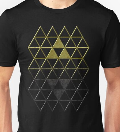 A Link Between Triforces Unisex T-Shirt