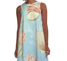Sea Life A-Line Dress