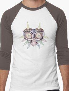 Ornate Majora's Mask Men's Baseball ¾ T-Shirt