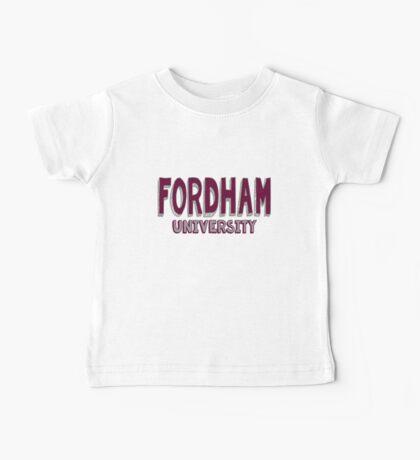 Fordham University Baby Tee