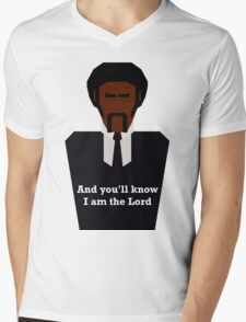 Jules Winnfield Mens V-Neck T-Shirt