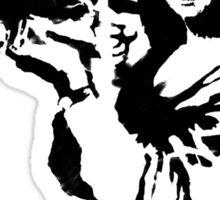 Banksy - Mona Lisa Bazooka Sticker