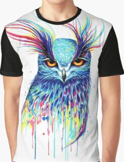 Mystical Owl Graphic T-Shirt