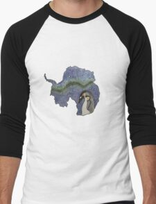 Antarctica Men's Baseball ¾ T-Shirt